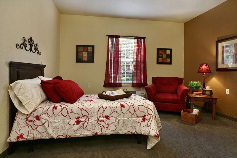 Elmcroft of Milford Chase - Marietta, GA - Apartment Bedroom