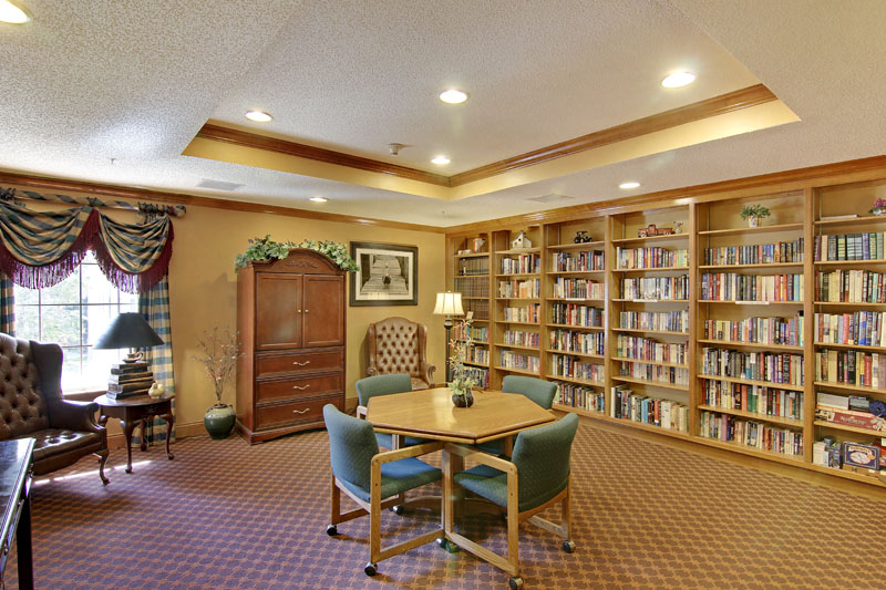 Elmcroft of Timberlin Parc - Jacksonville, FL - Library