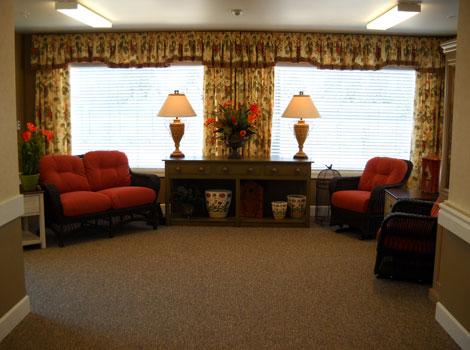 Empire Ranch Alzheimer's Special Care Center - Folsom, CA - Living Room