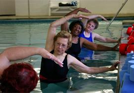 Franciscan Oaks - Denville, NJ - Water Aerobics Class