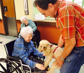 Franciscan Villa - Broken Arrow, OK - Pet Therapy