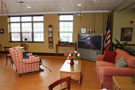 Fredonia Place, NY - TV Room