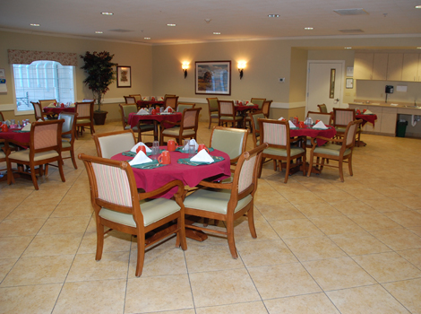 Glen Oaks Alzheimer's Special Care Center - Urbandale, IA - Dining Room