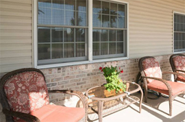 The Glenwood Assisted Living of Mahomet, IL - Front Porch