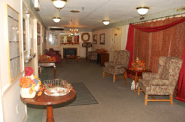 Golden LivingCenter - Attleboro, MA - Fireplace Lounge