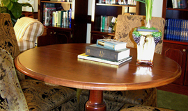 Greenfield of Stafford - Stafford, VA - Library Sitting Area