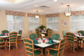 Greystone Farm at Salem, NH - Community Dining Room