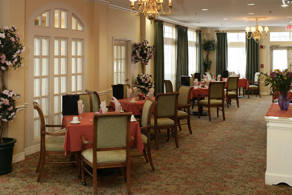 HarborChase of Venice, FL - Dining Room