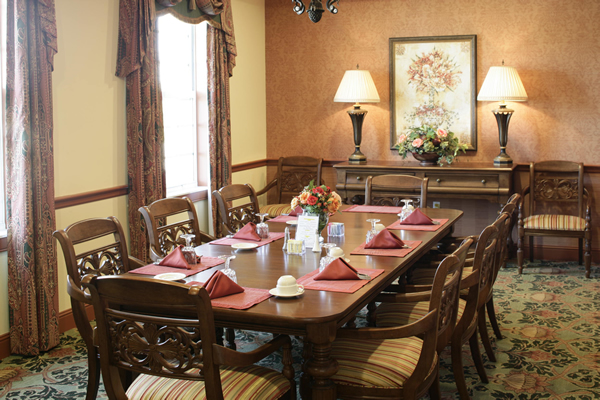 HarborChase of Vero Beach, FL - Private Dining Room