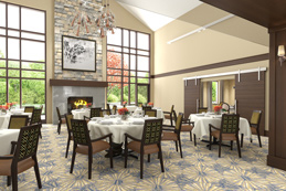 HarborChase of Shorewood, WI - Dining Room