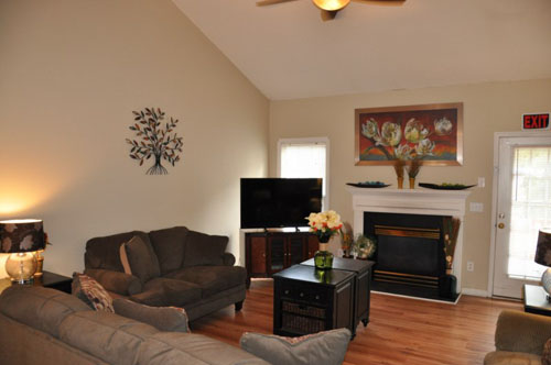 The Haven at Waterford Landing - Raleigh, NC - Living Room