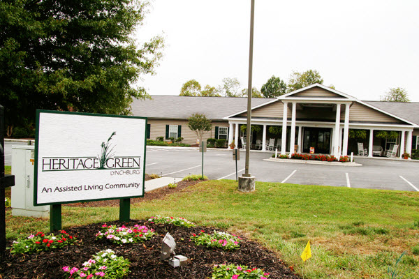 Heritage Green Assisted Living and Memory Care - Lynchburg, VA - Exterior
