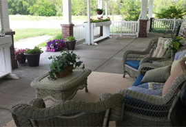 Homestead House - Beatrice, NE - Front Porch