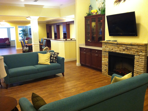 Hope Memory Care Center - Dacula, GA - TV Room