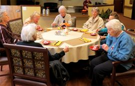 Amber Grove Place - Chico, CA - Residents Dining