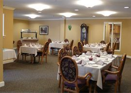 Aspenwood Senior Living Community - Silver Springs, Maryland - Dining Room