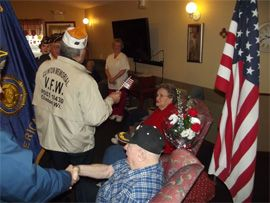 Azura Memory Care of Clinton, WI - Veterans Day Celebration