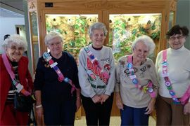 Azura Memory Care of Monroe, WI - Girl Scout Celebration