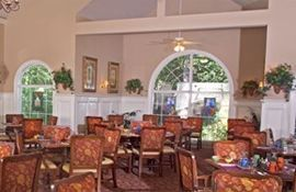 Belmont Village at Buckhead, GA - Dining Room