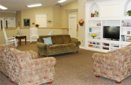 Brookdale Chenal Heights - Little Rock, AR - TV Lounge