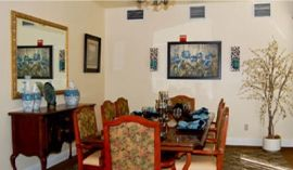 Pacifica Senior Living Merced, CA - Private Dining Room