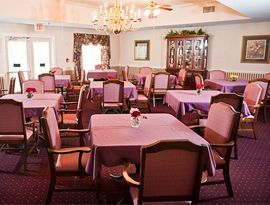 Cambridge Square Assisted Living - Rosenberg, TX - Dining Room