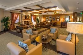 Carlton Senior Living Davis, CA - Fireside Lounge