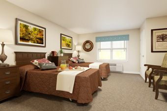Chatham Ridge Assisted Living - Chapel Hill, NC - Bedroom
