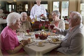 Clare Oaks Retirement Community, Bartlett, IL - Dining