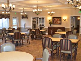 Colonial Gardens Alzheimer's Special Care Center - West Columbia, SC - Dining Room