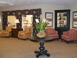 Colonial Gardens Alzheimer's Special Care Center - West Columbia, SC - Lounge