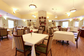 Commonwealth Assisted Living at Chesterfield - Chesterfield, VA - Dining Room