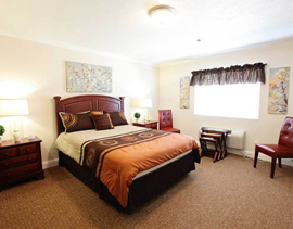 Commonwealth Assisted Living at Abingdon - Abingdon, VA - Bedroom