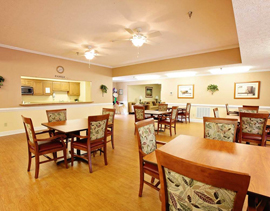 Commonwealth Assisted Living at Abingdon - Abingdon, VA - Dining Area