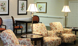 Country Place Senior Living of Canton Mulberry Residences, TX - Sitting Lounge