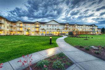 Crescent Park Senior Living - Eugene, OR - Exterior