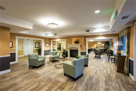 Crescent Park Senior Living - Eugene, OR - Lounge