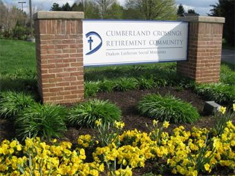 Cumberland Crossings Retirement Community - Carlisle, PA - Exterior Sign