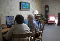 Eden Heights of Eden Assisted Living & Memory Care - Eden, NY - Computer Room