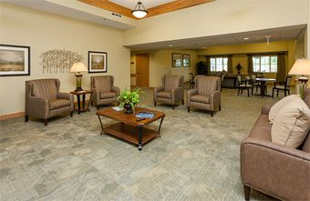 Edencrest at Green Meadows - Johnston, IA - Gathering Area