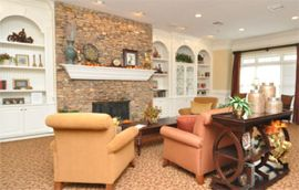 Brookdale Buford, GA - Fireplace Lounge