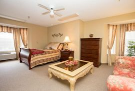 Cottonwood Place - Columbus, NE - Bedroom