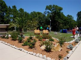 Fountain Crest - Lehigh Acres, FL - Butterfly Garden