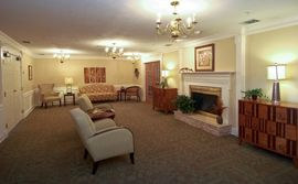 Georgetowne Place - Fort Wayne, IN - Fireplace Lounge