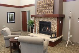 The Reserve at Hamilton Trace - Fishers, IN - Fireplace Lounge