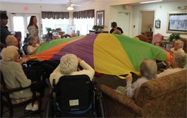Heritage Green of Hanover - Mechanicsville, VA - Residents playing game
