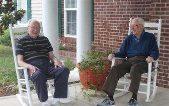Heritage Green of Hanover - Mechanicsville, VA - Residents chatting on front porch