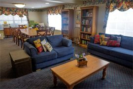 Highland Place - Inverness, FL - Common Room