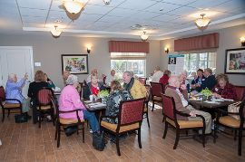 InspiredLiving at Sun City Center, FL - Residents Dining