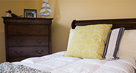 Locust Grove Senior Living - West Mifflin, PA - Apartment Bedroom